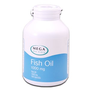 MEGA We Care Fish Oil 1000mg 100cap