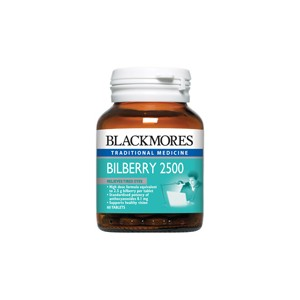 Blackmores Bilberry 2500mg 60cap